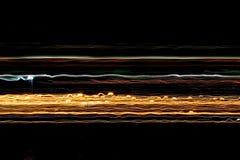 Lignes de lumière Photo libre de droits