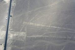 Lignes de Nazca Image stock