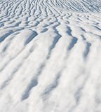 Lignes de neige Photos stock