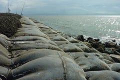 Lignes de pêche Photos stock