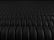 Lignes de pneu d'automobile Photographie stock libre de droits