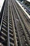 Lignes de rail Images libres de droits