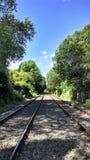 Lignes de rail Photos stock