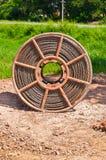 Lignes de tension de bobine Image libre de droits