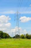 Lignes de transmission d'Electric Power Photographie stock libre de droits