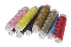 Lignes des amorçages colorés Photographie stock
