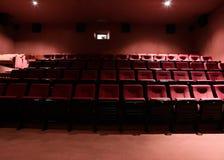 Lignes des sièges de théâtre Photos libres de droits