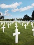 Lignes des tombes Photos stock
