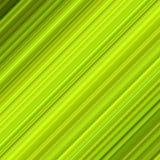 Lignes diagonales colorées vertes. photographie stock