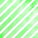 Lignes diagonales vertes Photo stock