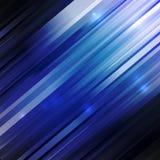 Lignes droites abstraites gamma de couleur bleue Photos libres de droits