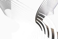 lignes du gris 3d Images stock