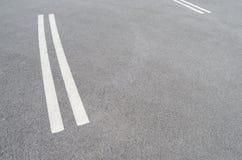 Lignes du trafic Image stock