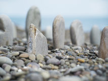 Lignes en pierre Photo libre de droits