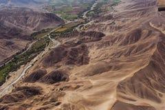 Lignes et geoglyphs de Nazca Images stock