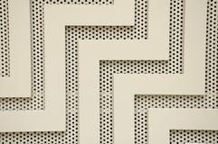Lignes et trous abstraits Images stock