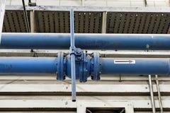 Lignes et valve Photo stock