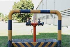 Lignes et valve Image stock