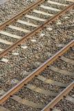 Lignes ferroviaires Photos stock