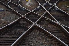 Lignes ferroviaires Photographie stock