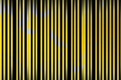 lignes florales jaune Illustration Libre de Droits