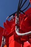 Lignes hydrauliques. Photographie stock libre de droits