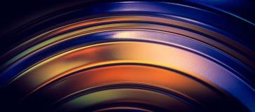 Lignes incurvées par abstrait   Photographie stock libre de droits
