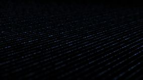 Lignes isométriques dynamiques bleu de foudre illustration stock