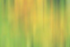 Lignes jaunes vertes de tache floue de mouvement de fond de gradient Images stock