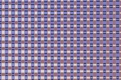 Lignes légères chaudes aléatoires matrice de places rouges images stock