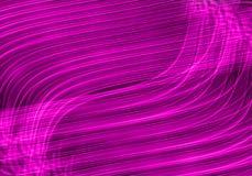 Lignes légères colorées Images stock