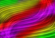 Lignes légères colorées Photos libres de droits