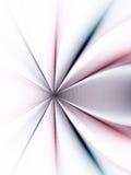 Lignes marron bleues abstraites Photo stock