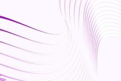 Lignes minces roses Photographie stock libre de droits