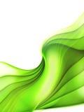 Lignes molles vertes illustration de vecteur
