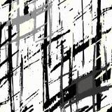Lignes monochromes sur le fond d'image blanc dans le style de graffiti Photo stock
