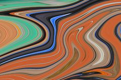 Lignes multicolores Photo colorée imagination Photo stock