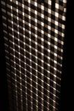 Lignes noires et blanches abstraites Photo stock