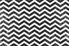 Lignes noires modèle sans couture de zigzag Fond grunge d'illustration géométrique de vecteur de rayure de zigzag Images libres de droits