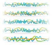 Lignes ondulées abstraites Illustration de Vecteur