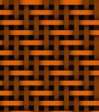 Lignes oranges abstraites sur le fond Photos libres de droits