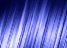 Lignes rougeoyantes abstraites brillantes bleues fond Image stock