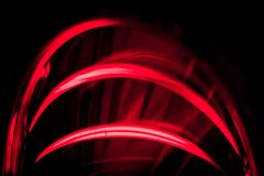 Lignes rouges Photo stock