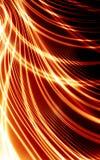 Lignes rouges abstraites Image stock