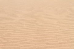 Lignes soustraites de dune de sable Photographie stock