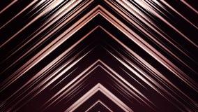 Lignes structure diagonales Formes géométriques colorées par résumé Animation générée par ordinateur de boucle Configuration géom illustration libre de droits