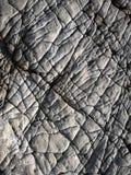 Lignes sur la surface de la roche Photos libres de droits