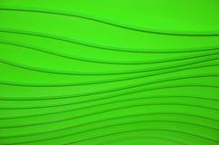 Lignes sur un fond vert Image stock