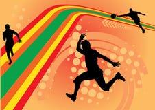 lignes vecteur de sport de conception Illustration Stock
