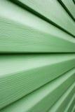 Lignes Vertes dans le point de vue Photos libres de droits